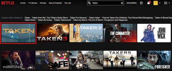 Watch Taken (2008) on Netflix 2