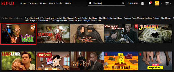 Watch The Mask (1994) on Netflix 2