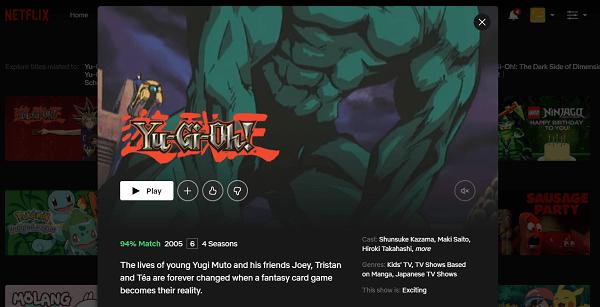 Watch Yu-Gi-Oh on Netflix 3