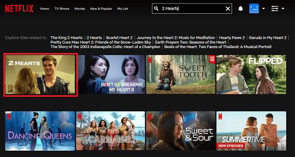 Watch 2 Hearts (2020) on Netflix