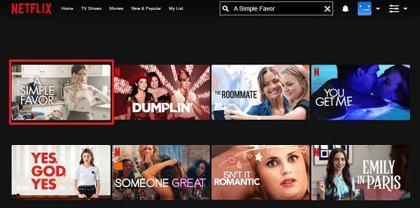 Watch A Simple Favor (2018) on Netflix