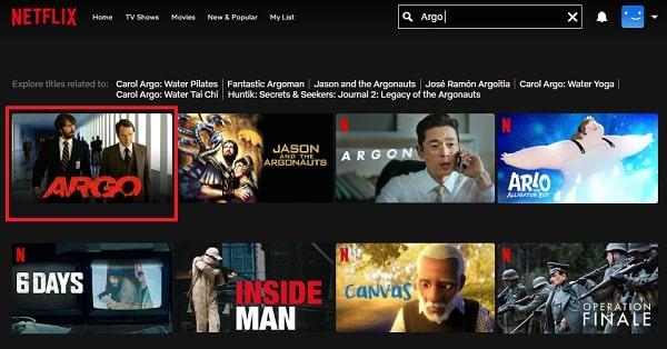 Watch Argo (2012) on Netflix