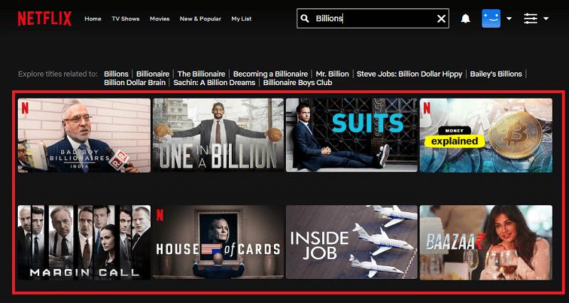 Watch Billions (2016) All Season on Netflix