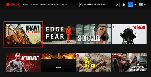 Watch Brawl in Cell Block 99 (2017) on Netflix