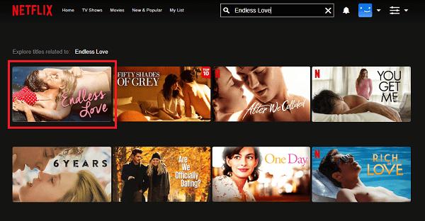Watch Endless Love (2014) on Netflix