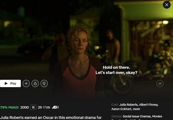 Watch Erin Brockovich (2000) on Netflix