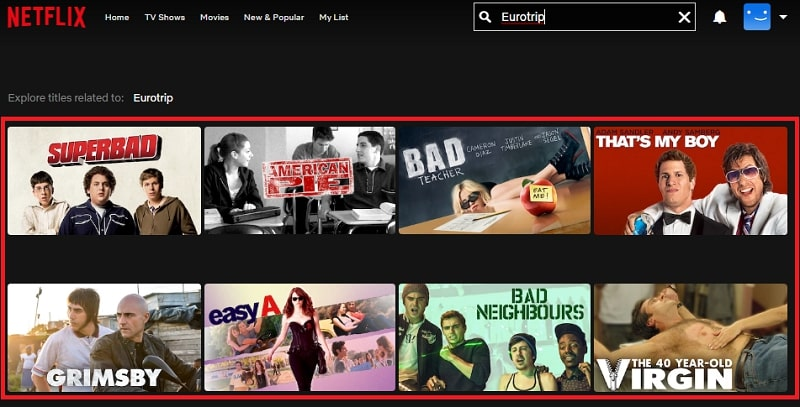Watch Eurotrip (2004) on Netflix