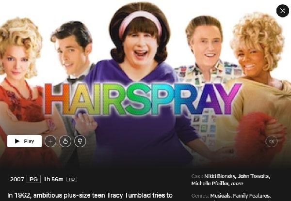 Watch Hairspray (2007) on Netflix
