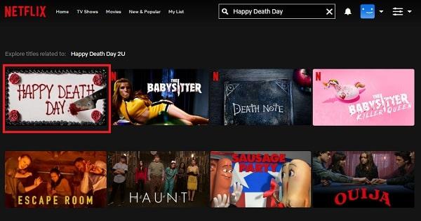 Watch Happy Death Day (2017) on Netflix