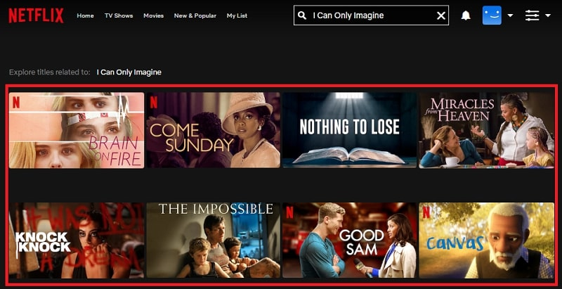 Watch I Can Only Imagine (2018) on Netflix