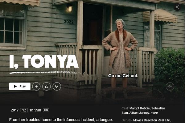 Watch I, Tonya (2017) on Netflix