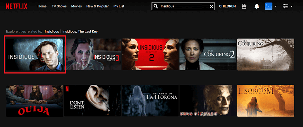 Watch Insidious (2011) on Netflix From