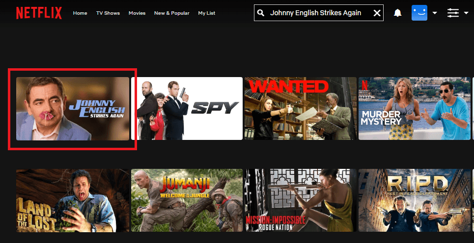 Watch Johnny English Strikes Again (2018) on Netflix