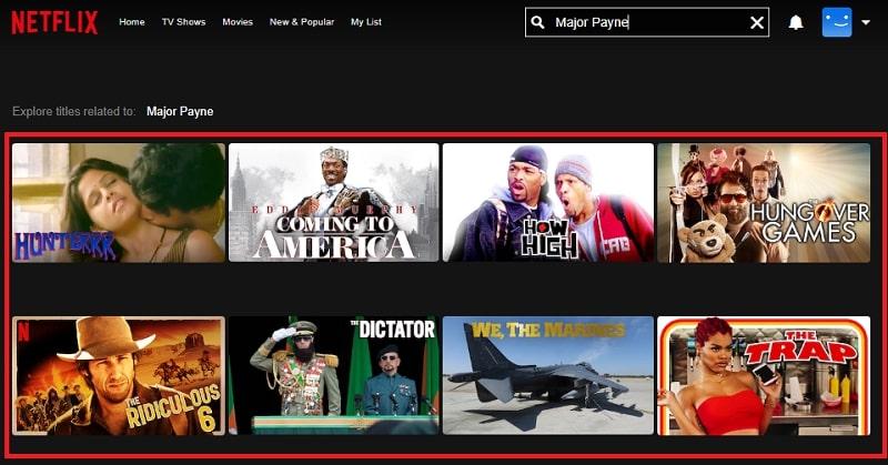 Watch Major Payne (1995) on Netflix