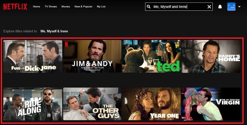 Watch Me, Myself and Irene (2000) on Netflix