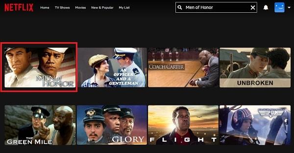 Watch Men of Honor (2000) on Netflix