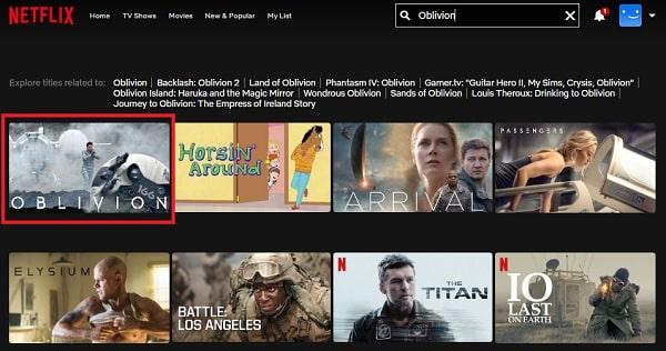 Watch Oblivion (2013) on Netflix