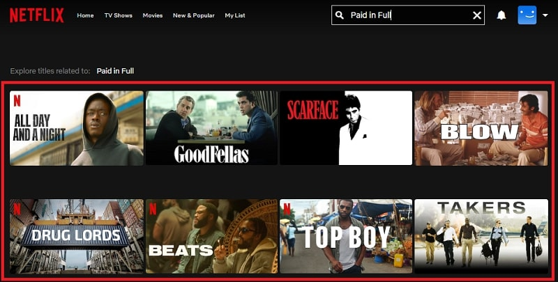 Watch Paid in Full (2002) on Netflix