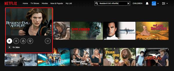 Watch Resident Evil: Afterlife (2010) on Netflix