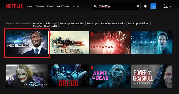 Watch RoboCop (2014) on Netflix