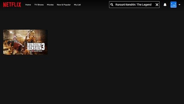Watch Rurouni Kenshin: The Legend Ends (2014) on Netflix