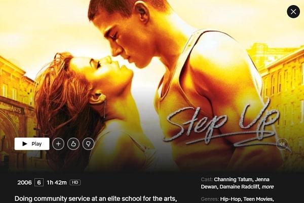 Watch Step Up (2006) on Netflix