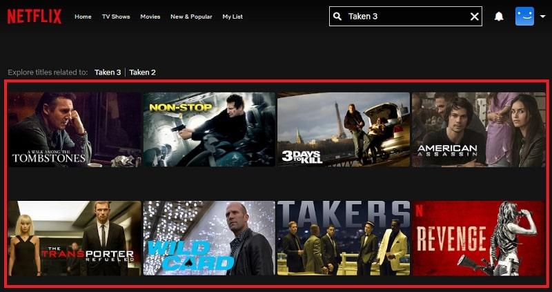 Watch Taken 3 (2015) on Netflix