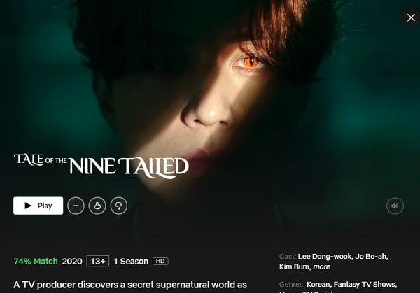 Watch Tale of the Nine Tailed (2020) on Netflix