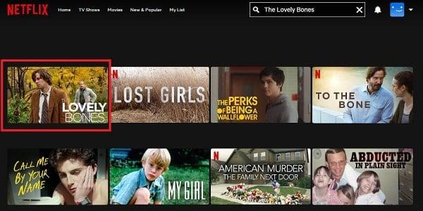 Watch The Lovely Bones (2009) on Netflix