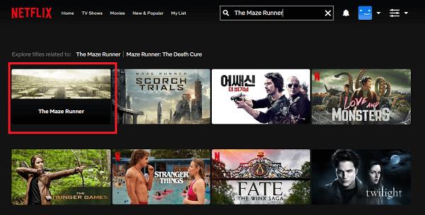 Watch The Maze Runner (2014) on Netflix