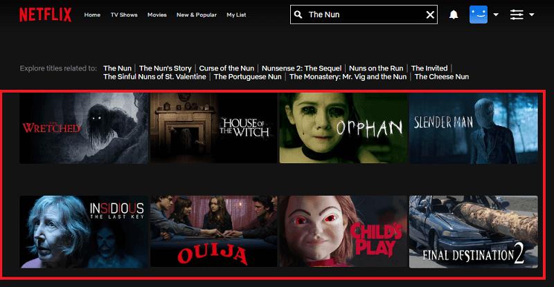 Watch The Nun (2018) on Netflix