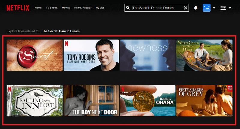 Watch The Secret: Dare to Dream (2020) on Netflix