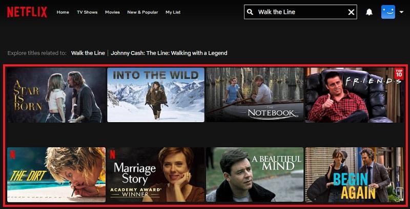 Watch Walk the Line (2005) on Netflix