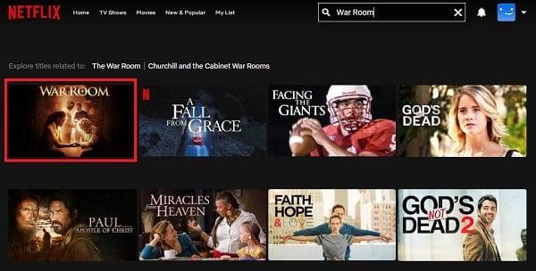Watch War Room (2015) on Netflix