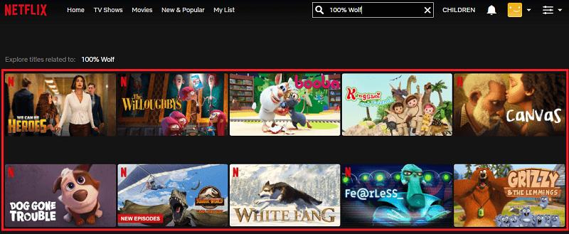Watch 100% Wolf on Netflix 1