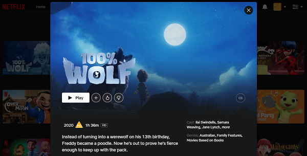 Watch 100% Wolf on Netflix 3