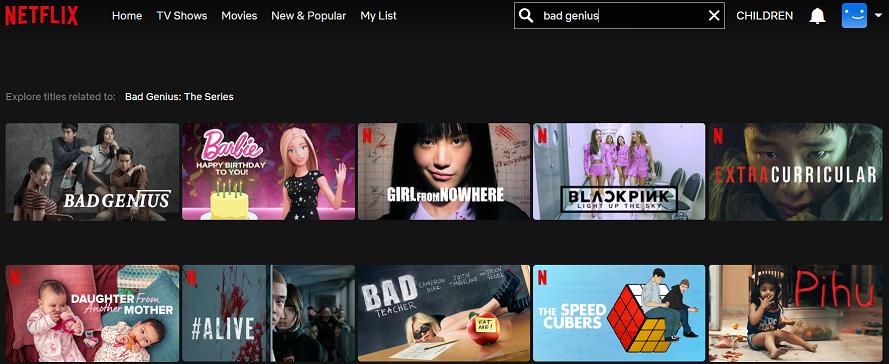 Watch Bad Genius on Netflix 1