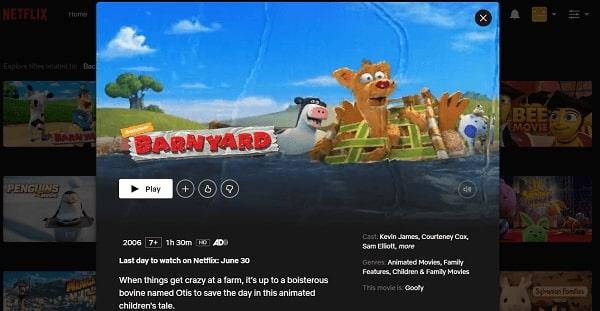 Watch Barnyard (2006) on Netflix 3