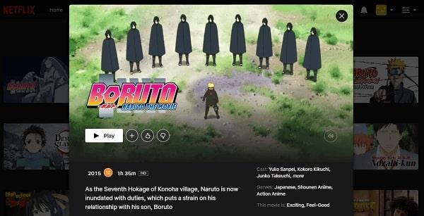 Watch Boruto - Naruto the Movie (2015) on Netflix 3