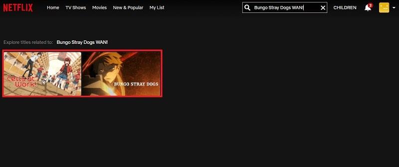 Watch Bungo Stray Dogs WAN! on Netflix 1