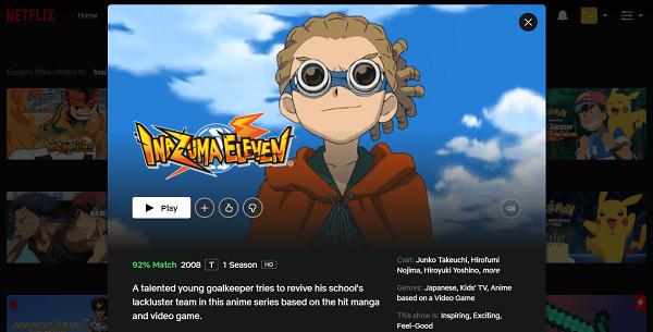 Watch Inazuma Eleven on Netflix 3