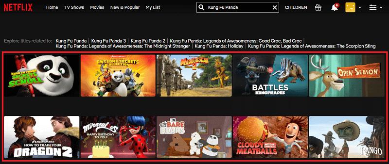 Regarder Kung Fu Panda (2008) sur Netflix 1