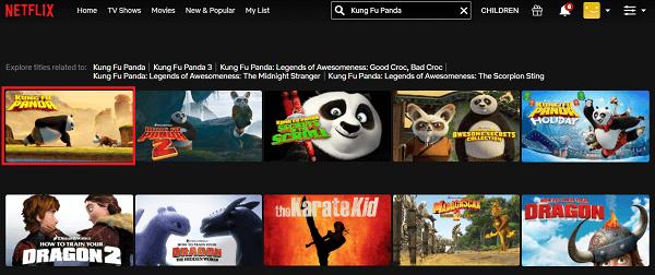 Regarder Kung Fu Panda (2008) sur Netflix 2
