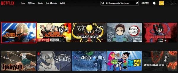Watch My Hero Academia -Two Heroes (2018) on Netflix 2