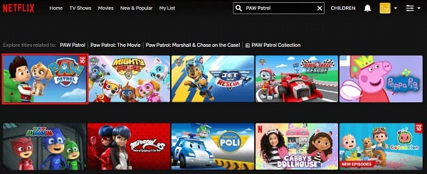 Watch PAW Patrol on Netflix 2