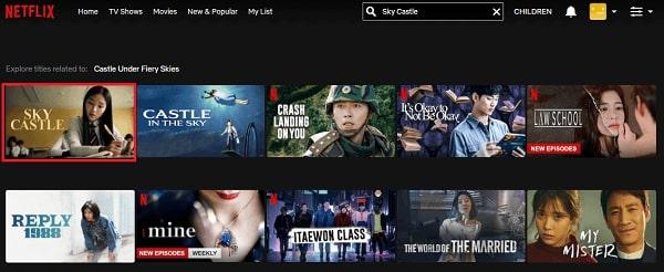 Watch Sky Castle on Netflix 2