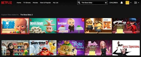 Watch The Boss Baby (2017) on Netflix 2