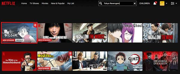 Watch Tokyo Revengers on Netflix 2