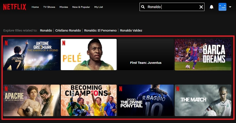 Watch Ronaldo (2015) on Netflix