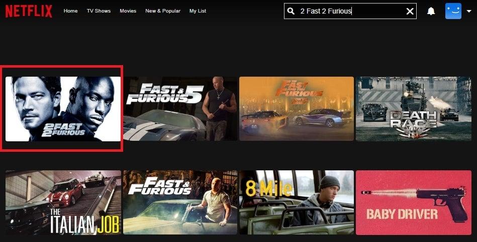 Watch 2 Fast 2 Furious (2003) on Netflix